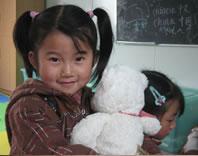 为最急需的中国项目捐款